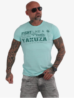 Yakuza T-shirts Pirates Of The 893 blå