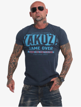 Yakuza T-shirts Hating Clown blå