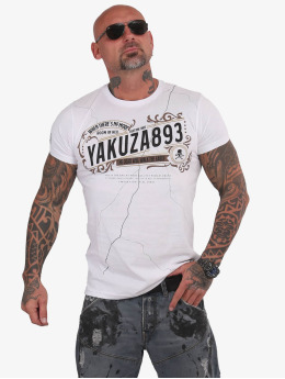 Yakuza T-Shirty Room In Hell bialy