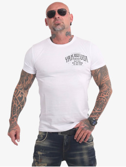 Yakuza T-Shirty Words Like Bullets bialy