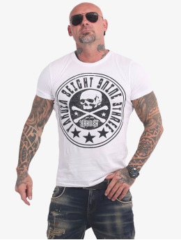 Yakuza T-Shirty Inner Circle bialy