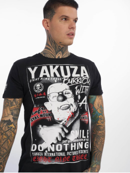 Yakuza T-Shirty Burried czarny
