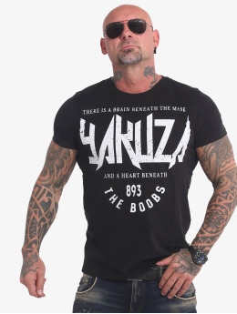 Yakuza T-Shirty Boobs  czarny