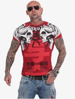 Yakuza T-Shirty Sick Nippon czerwony