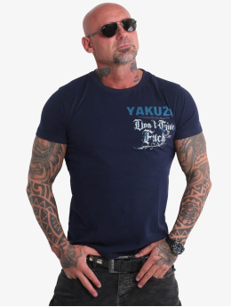 Yakuza T-Shirty Give A Fck  indygo