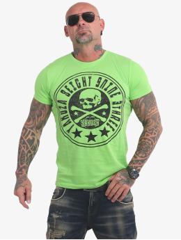 Yakuza T-Shirty Inner Circle zielony