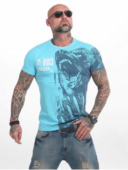Yakuza T-skjorter Beast blå