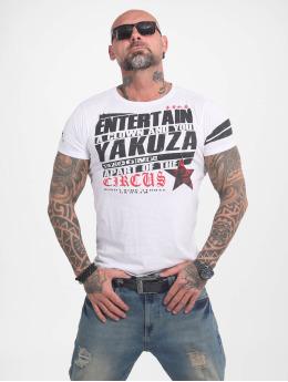 Yakuza T-skjorter Entertain  hvit