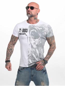 Yakuza T-skjorter Beast hvit