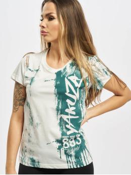 Yakuza T-skjorter Firebird Lace hvit