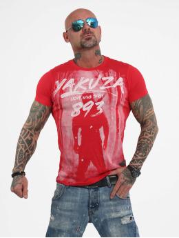 Yakuza T-skjorter Lock Up red