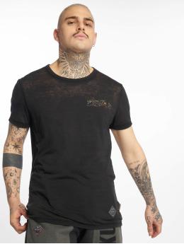 Yakuza T-skjorter Burnout Trophy svart