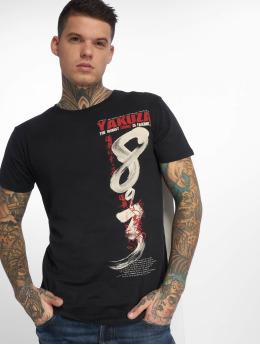 Yakuza T-skjorter Join US svart