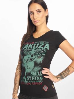 Yakuza T-skjorter Burried svart