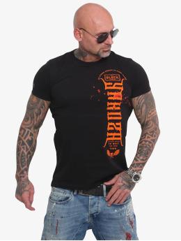 Yakuza T-skjorter Ammo  svart