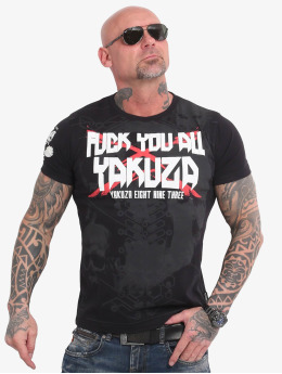 Yakuza T-skjorter F.Y.A. svart
