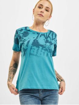 Yakuza T-skjorter 893Allover  turkis