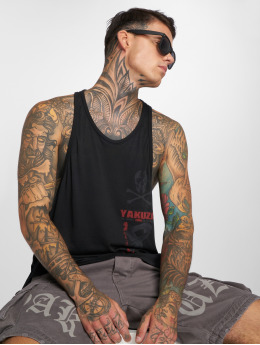 Yakuza Tank Tops Japanese black