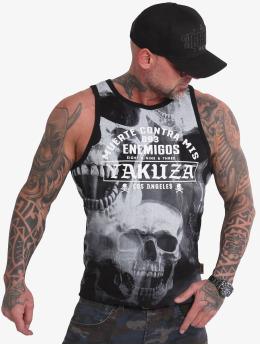 Yakuza Tank Tops Muerte Skull musta