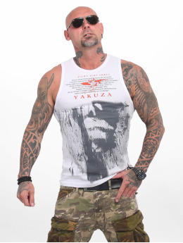 Yakuza Tank Tops Armed Angel weiß