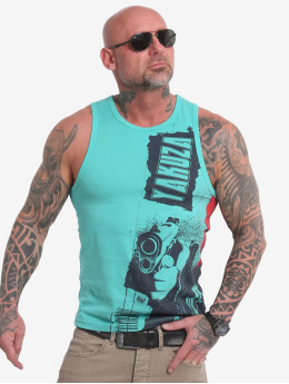 Yakuza Tanktop Armed Galaxy turquois