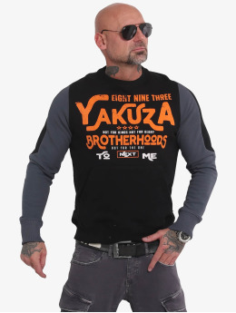 Yakuza Trøjer Brotherhood  sort