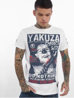 Yakuza Tričká Burried biela
