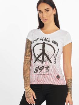 Yakuza Tričká Love & Peace biela