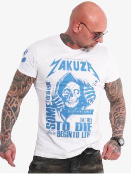 Yakuza Tričká Afraid To Die biela