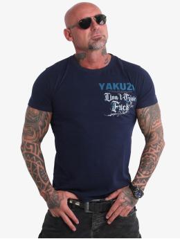 Yakuza Tričká Give A Fck  indigo