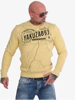 Yakuza trui Room In Hell  geel