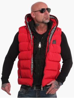 Yakuza Vest Fck Society 2Pad red