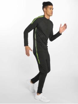 Zayne Paris Männer Anzug Long Sporty in schwarz