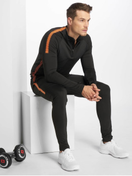 Zayne Paris Obleky Long Sporty čern