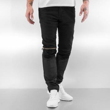 2Y Jeans ajustado Avery negro