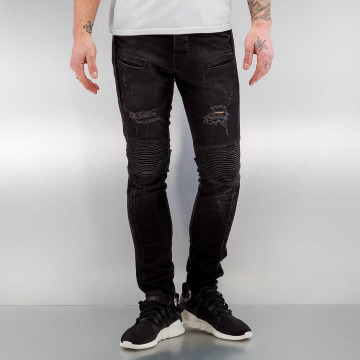 2Y Jeans slim fit Quilted nero