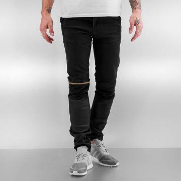 2Y Skinny Jeans Biff čern