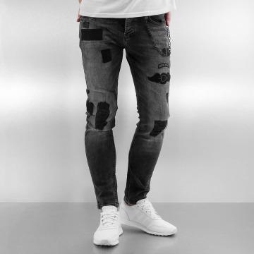 2Y Skinny Jeans Airborne šedá