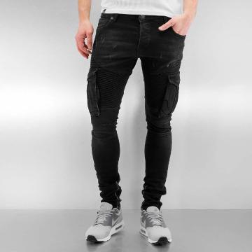 2Y Skinny Jeans Cargo black