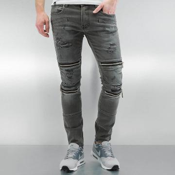2Y Skinny Jeans Braga grau