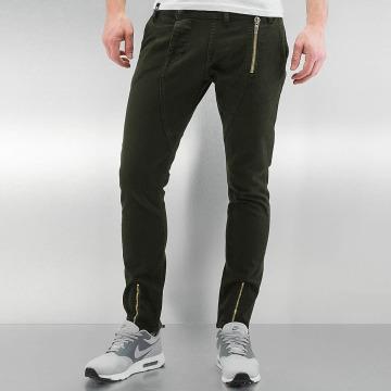 2Y Skinny Jeans Bolton hnědožlutý