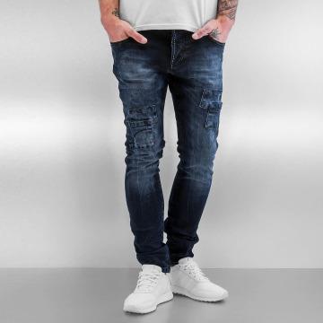 2Y Skinny Jeans Bill niebieski