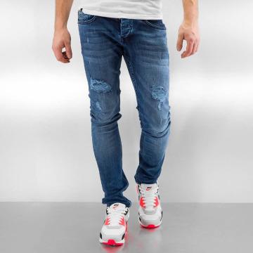 2Y Skinny Jeans Glasses niebieski