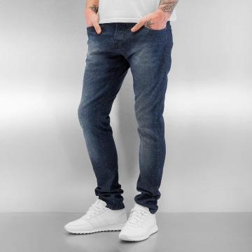 2Y Skinny Jeans Pattern niebieski