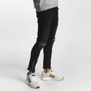 2Y Skinny jeans Samuel svart