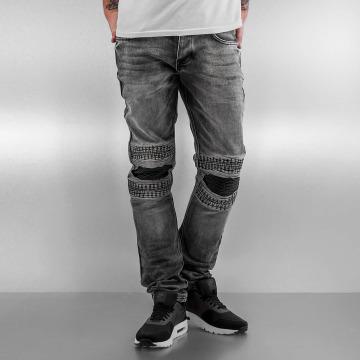 2Y Slim Fit Jeans Knee grå