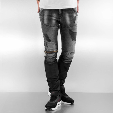 2Y Slim Fit Jeans Addison grau