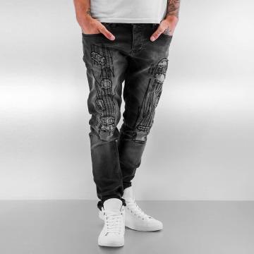 2Y Slim Fit Jeans Finley grijs