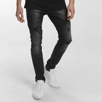 2Y Slim Fit Jeans Modern Tactic schwarz