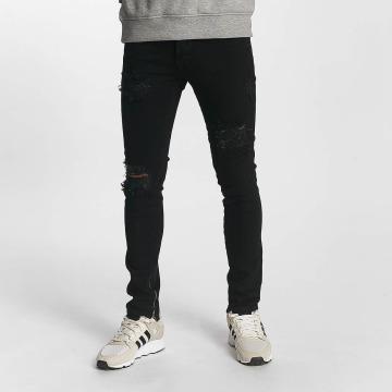 2Y Slim Fit Jeans Alexander zwart